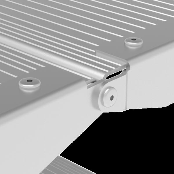Стремянка алюминиевая