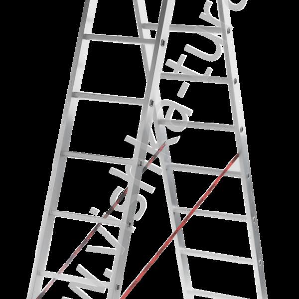 Лестница двухсекционная