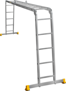 Лестница четырехсекционная